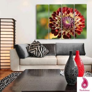 Multiple Frames Floral Wall Painting