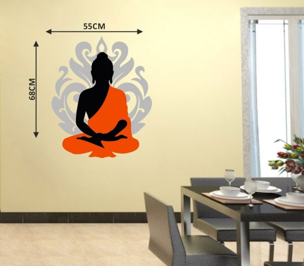 Buddha Wall Decal Sticker for Home Wall DecorationBuddha Wall Decal Sticker for Home Wall Decoration